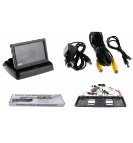 Rikverc kamera i monitor